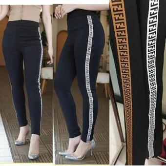 Harga Termurah A Y Jeans Legging Fendi Celana Legging Celana Wanita Celana Cewek Celana Scuba Sale Hanya Rp68 460