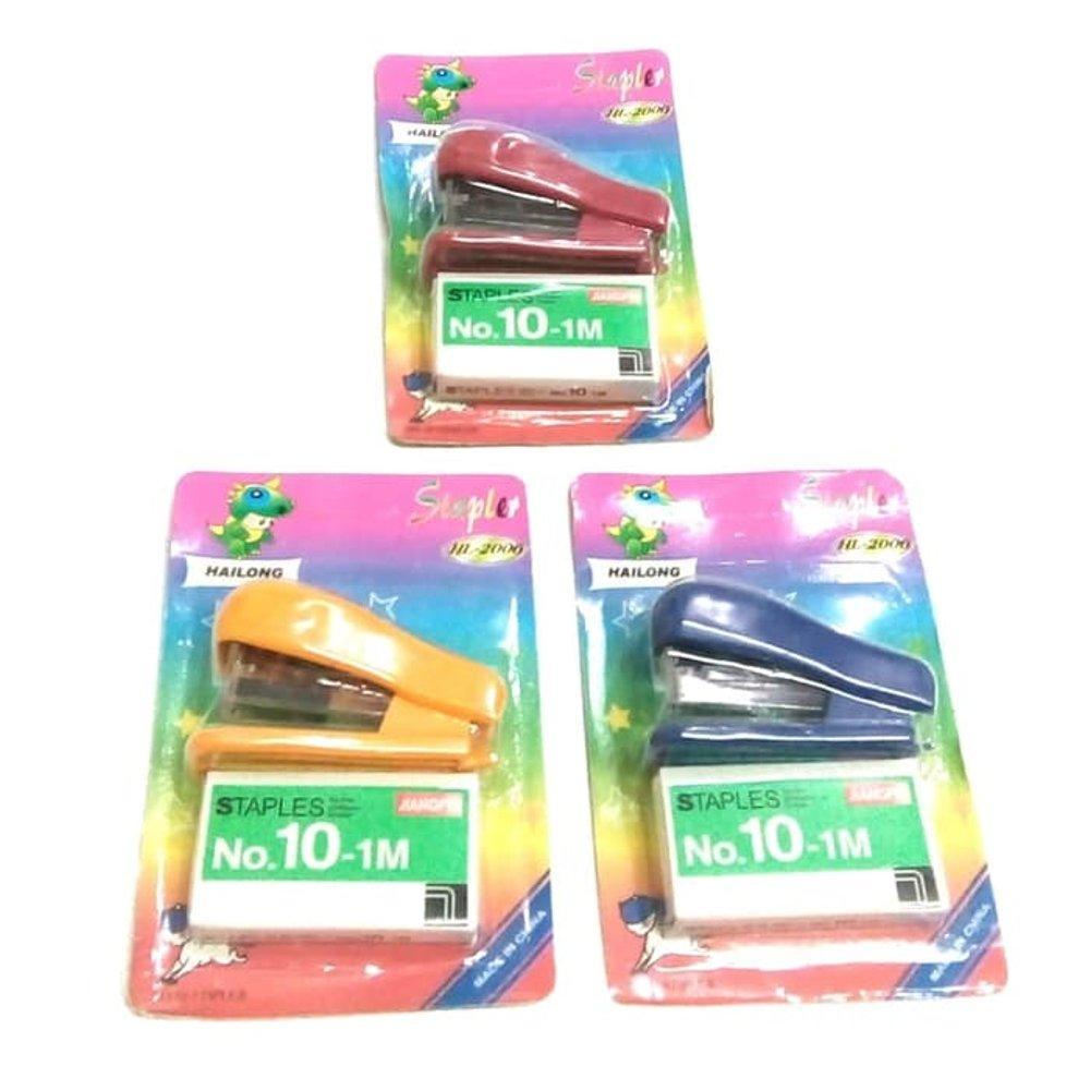 Mini Staples Set. Stapler Mini Set By Brawlers.