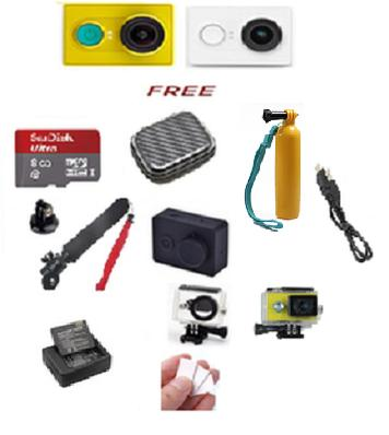 Paket Murah Kamera Xiaomi Yi Action - Paket Ekonomis II Terlaris di Lazada