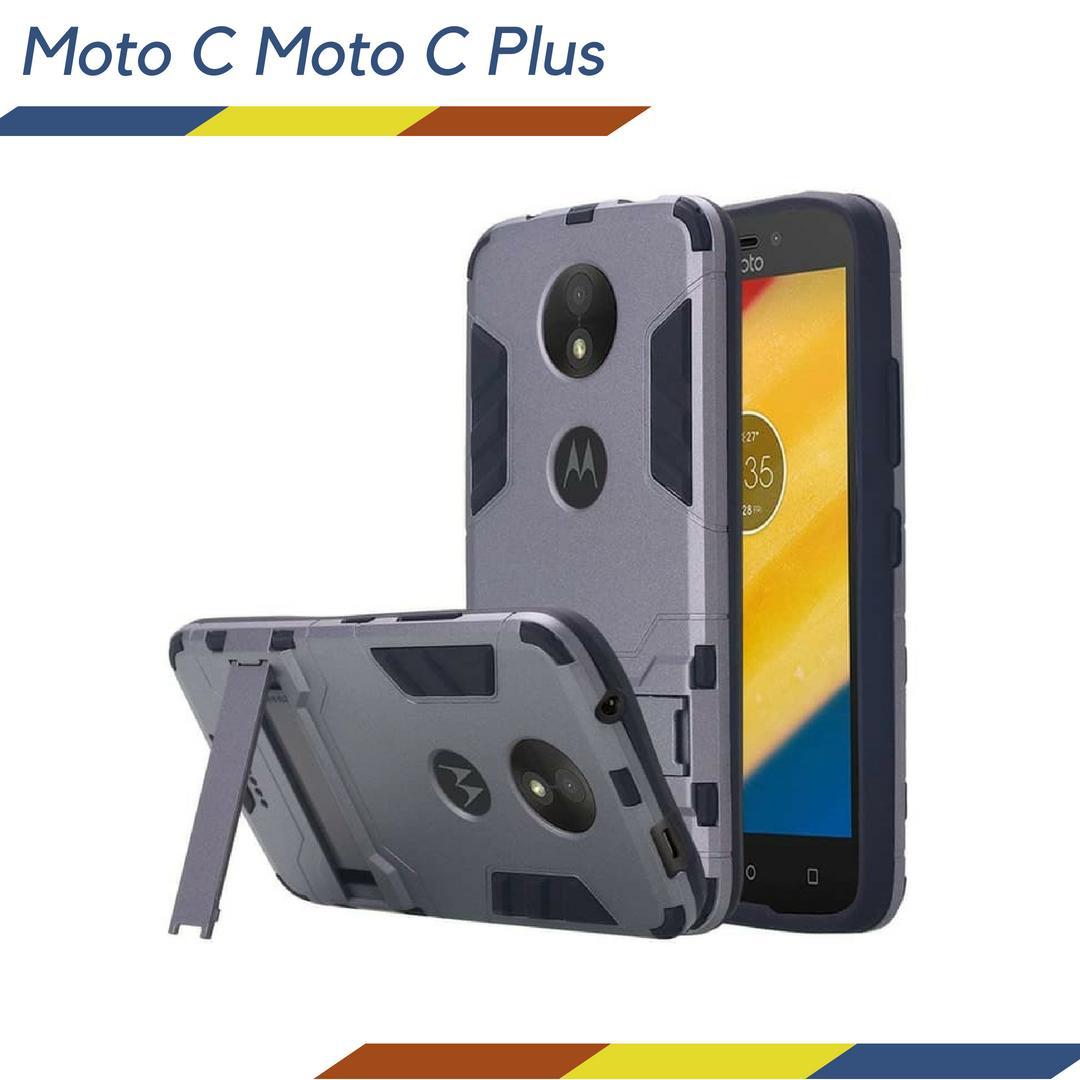Anti Crack Acrylic Mika Soft Case for Motorola Moto C Plus - Bening. IDR 35,000