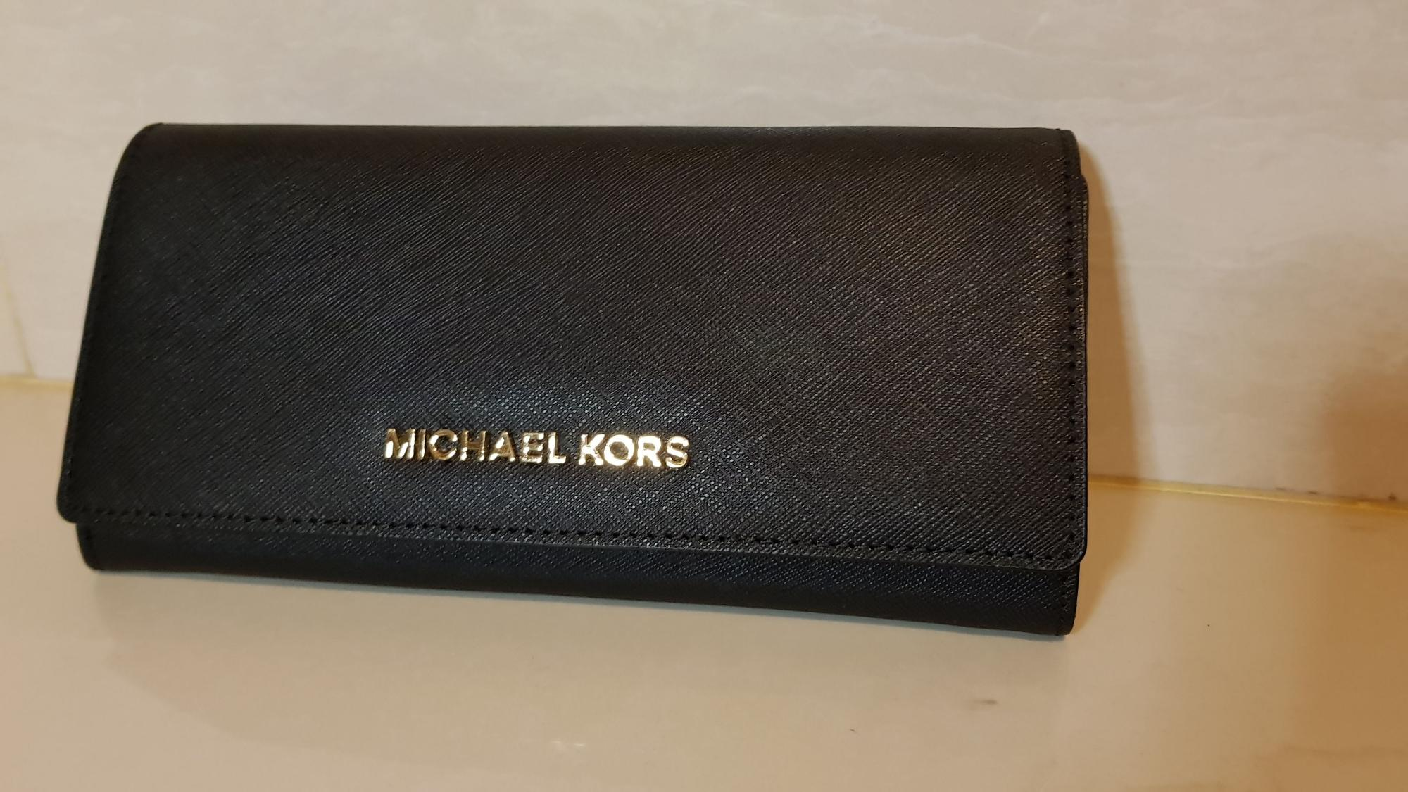 88c839b1ce687 Michael Kors Jet Set Travel Carry All Leather - Black