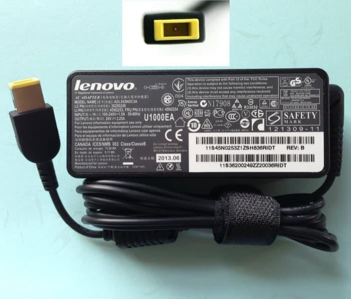 Adaptor Charger Lenovo Thinkpad X240 X240s X250 X260 W550s ORIGINAL