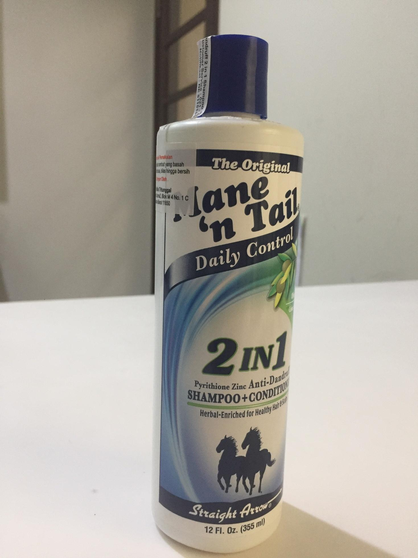 SHAMPOO / SHAMPO / SAMPO KUDA MANE N TAIL ANTI DANDRUFF 2 IN 1