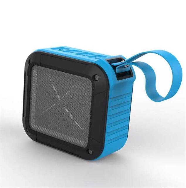 W-KING S7 Waterproof Bluetooth Speaker Music Sound Box Wireless Loudspeaker TF/FM/AUX Mini Speaker for iPhone xiaomi Handsfree