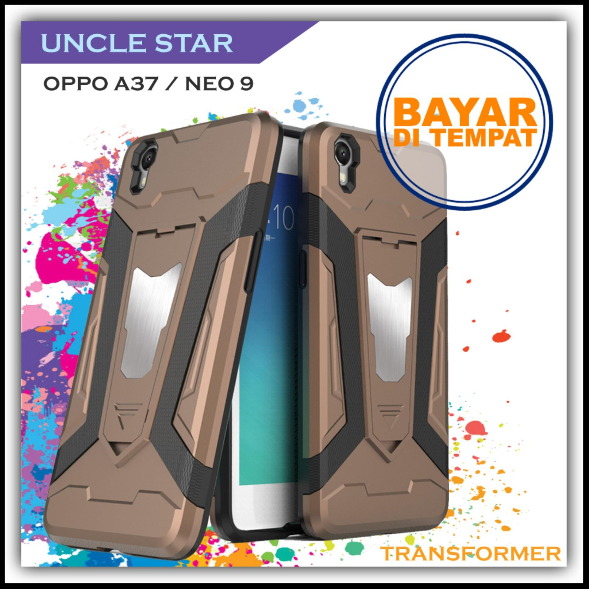 Buy Sell Cheapest La A9 Best Quality Product Deals Indonesian Store Charger Casan Oppo F1s F3 F5 F7 A37 A33 Neo 7 9 F1 2a Ak933 Original Uncle Star Hardcase For Pro Robot Transformer Ironman Limited