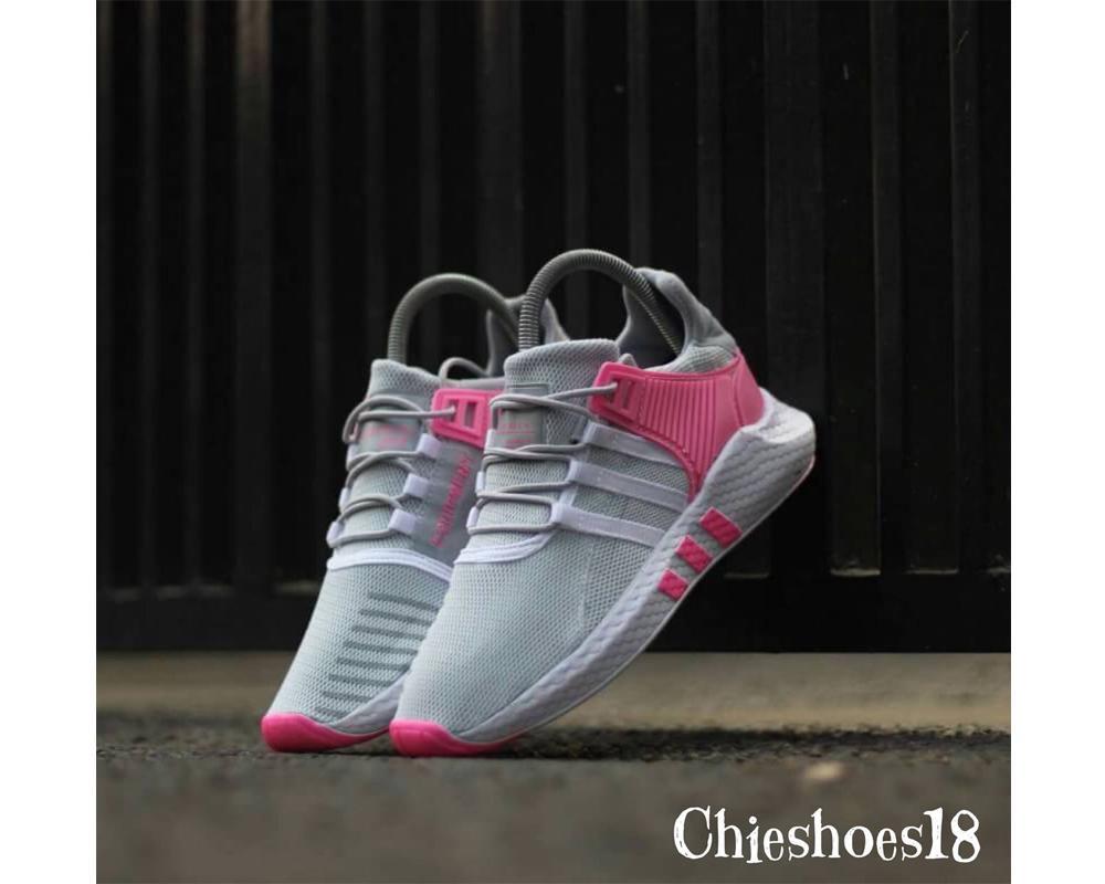 Sepatu Hits Adidas Equipment  Warna Grey Pink