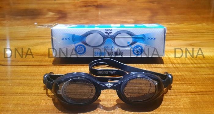 BEST SELLER!!! Kacamata Renang ARENA SPRINT AGS-550 BLK/FREE - ORIGINAL - Yp0Z6D