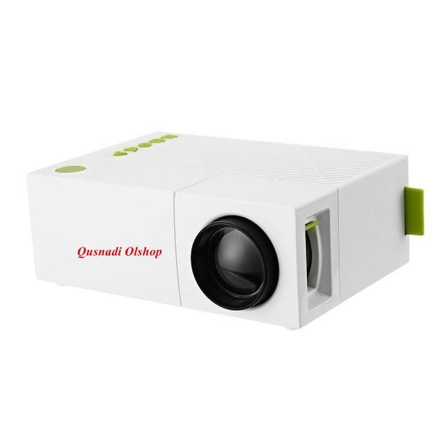 Proyektor Infokus Mini Glitz YG310 HIJAU Infocus LCD Projektor Resolusi Tinggi LED Projector Bioskop Rumah Flim PS Bola Video  Murah dan Canggih Teknologi Terbaru Promo Bisa UNtuk HP Android