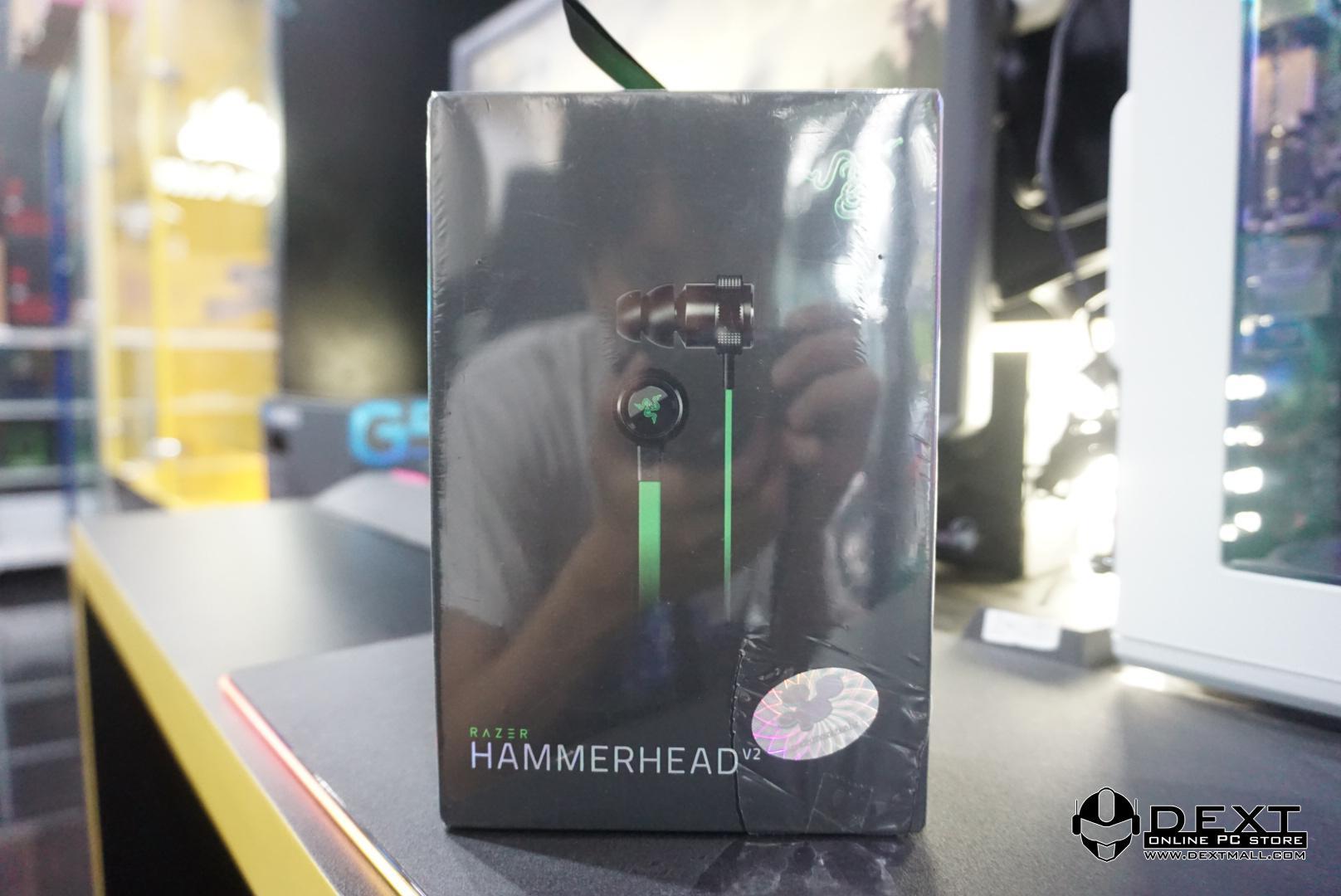 9c699369a98 Razer Hammerhead V2 (In Ear Headset) - FREE Pouch