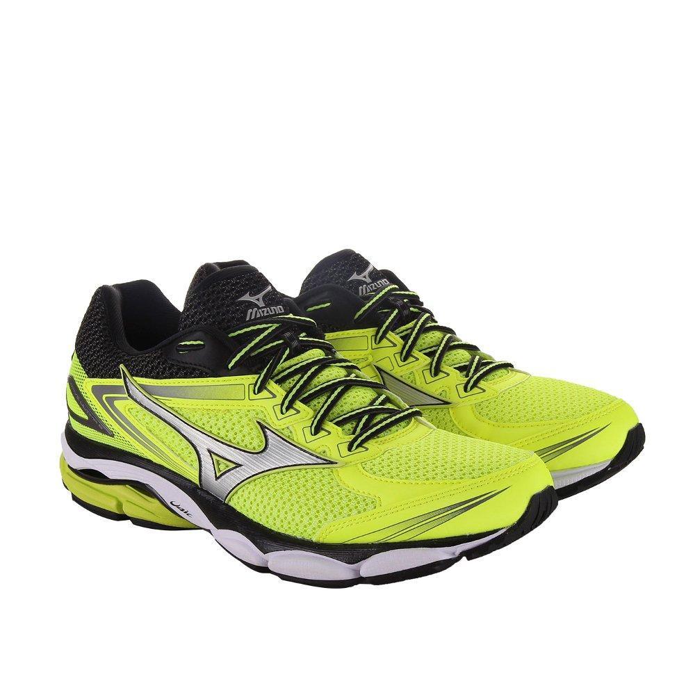 Sepatu Pria Mizuno Running Wave Ultima 8 - Kuning Silver Hitam 544cf4f07f