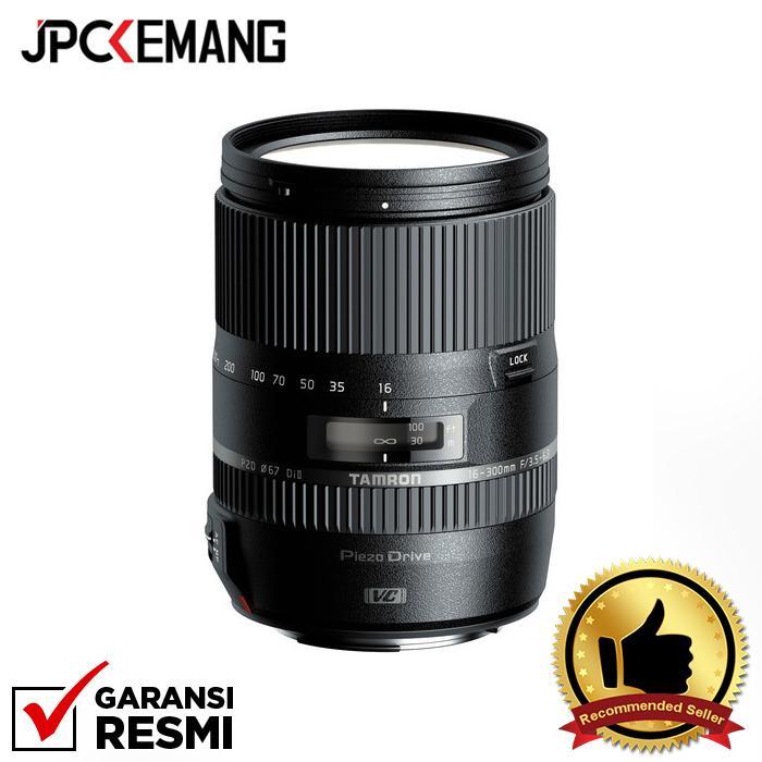 Tamron for Nikon 16-300mm f/3.5-6.3 DI II VC PZD Macro jpckemang GARANSI RESMI
