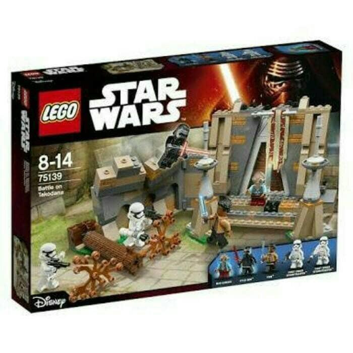 BEST SELLER!!! Lego 75139 Star Wars The Battle of Takodana - Original Lego - XTwwJ1