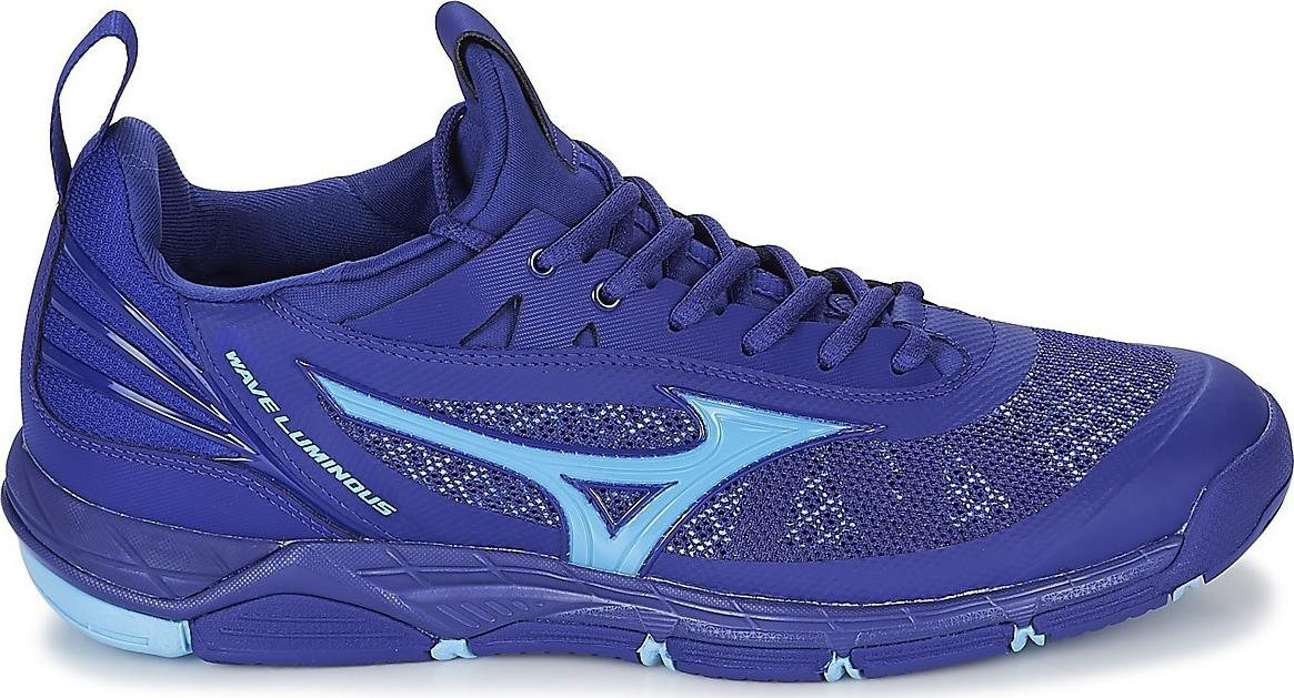 Sepatu voli/badminton  Mizuno V1GA182097	WAVE LUMINOUS - SODALITE BLUE AIR BLUE SODALITE BLUE