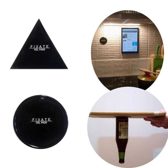 BIG SALE  Fixate Gel Pads Super Sticky Pad Stiker Gel Tempel Perekat Multifungsi  Termurah