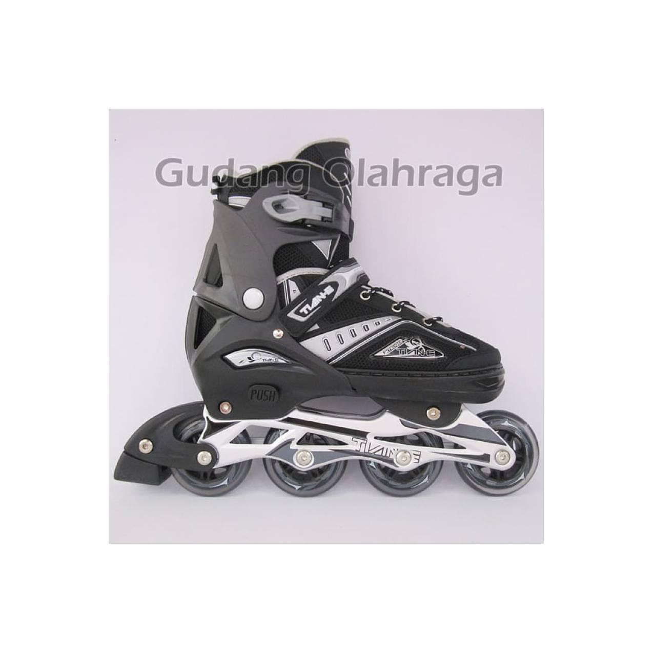 Tsh Sepatu Roda Inline Skate Anak Uk Medium Merah - Cek Harga ... fec6923650