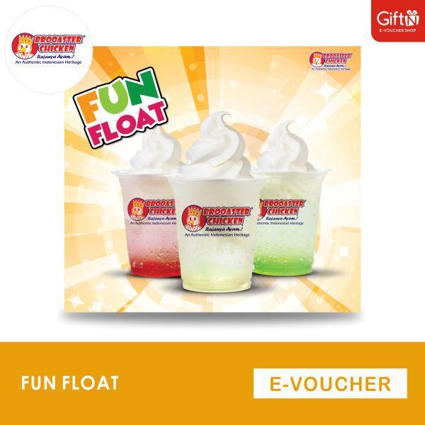 Brooaster Chicken Voucher Paket Fun Float By Giftn.