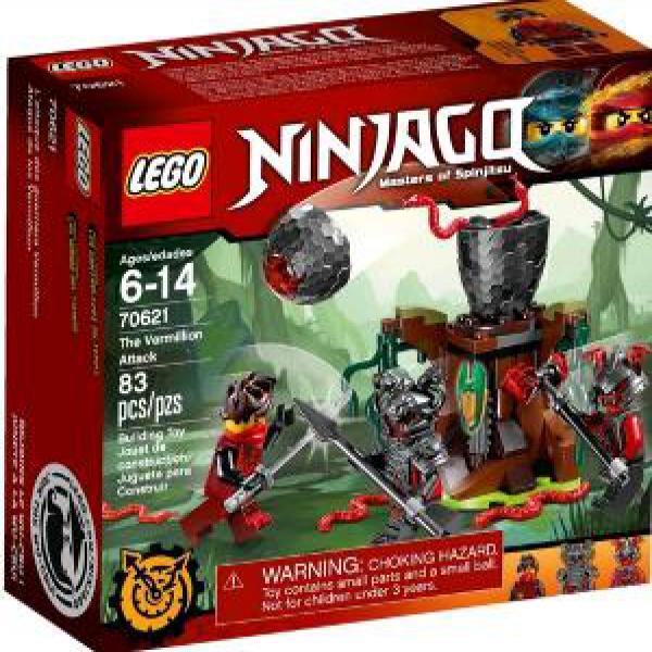 Lego Ninjago 70621 The Vermilion Attack