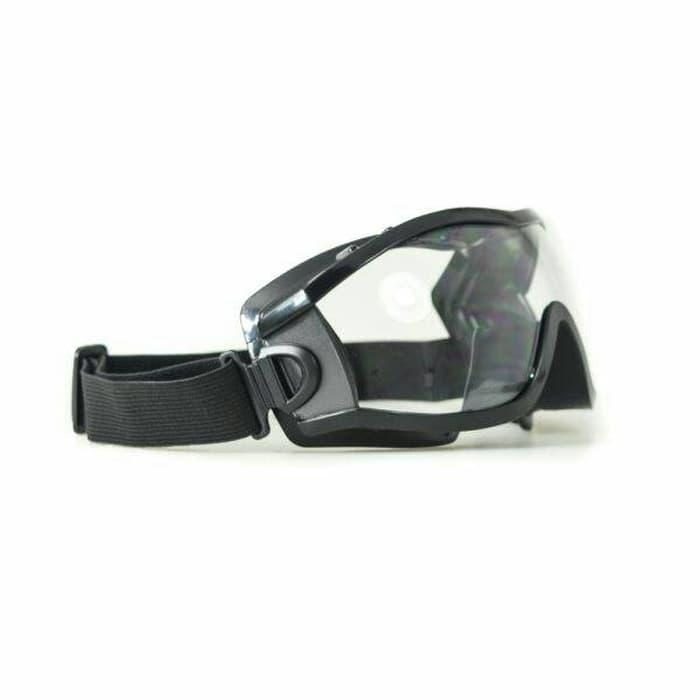 Terbaru!! Kacamata Pelindung Indoor Outdoor U002F Motor U002F Goggle Safety Krisbow - ready stock