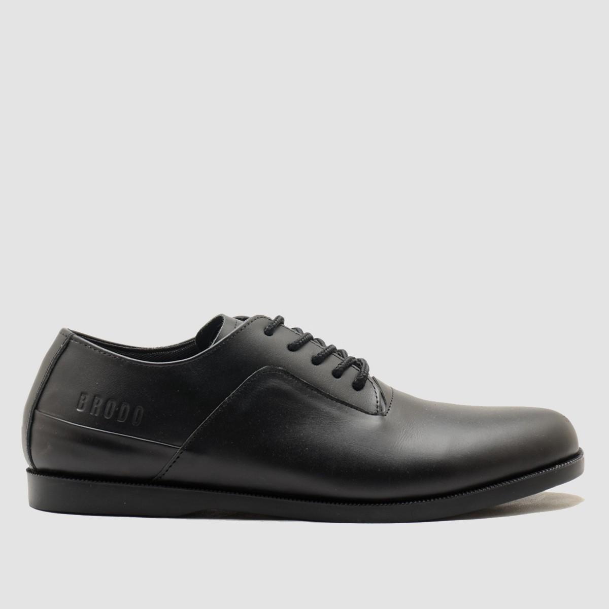 BRODO - Sepatu Pria Toba E+ Full Black