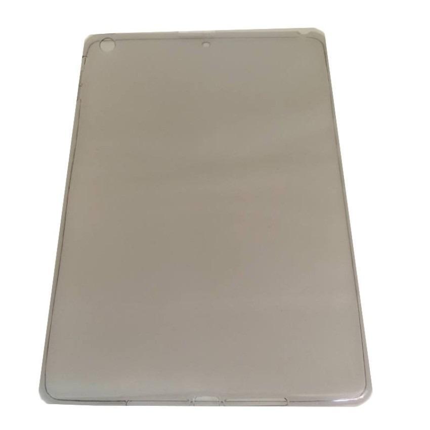 Mr Ultrathin iPad 5 / Air UltraThin / UltraFit Air Case 0.3mm Casing iPad 5 / Air JellyCase iPad 5 / Air - Hitam Transparan