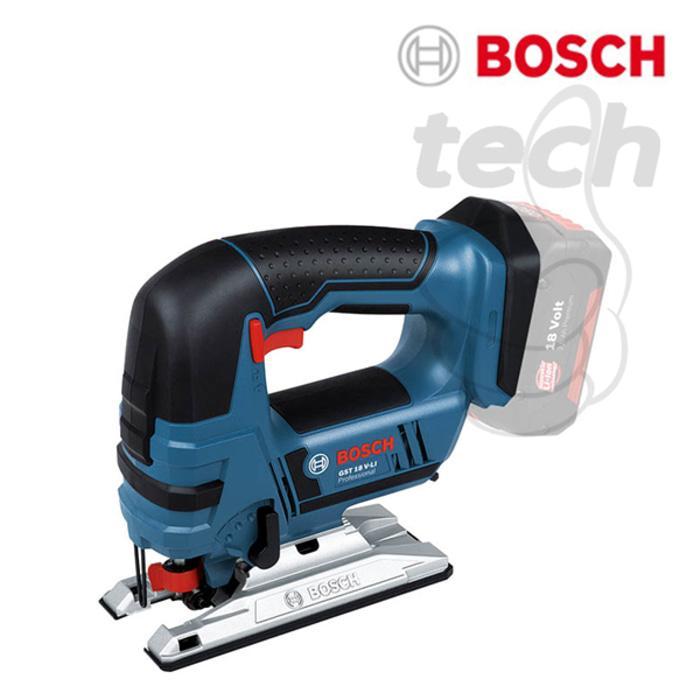Mesin Gergaji Cordless Jigsaw Baterai Bosch GST 18 V-LI