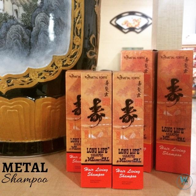 Shampo Metal Fortis HAIR LIVING Merah Netto 100ML BPOM Original 100% - Shampo Metal Penumbuh Rambut