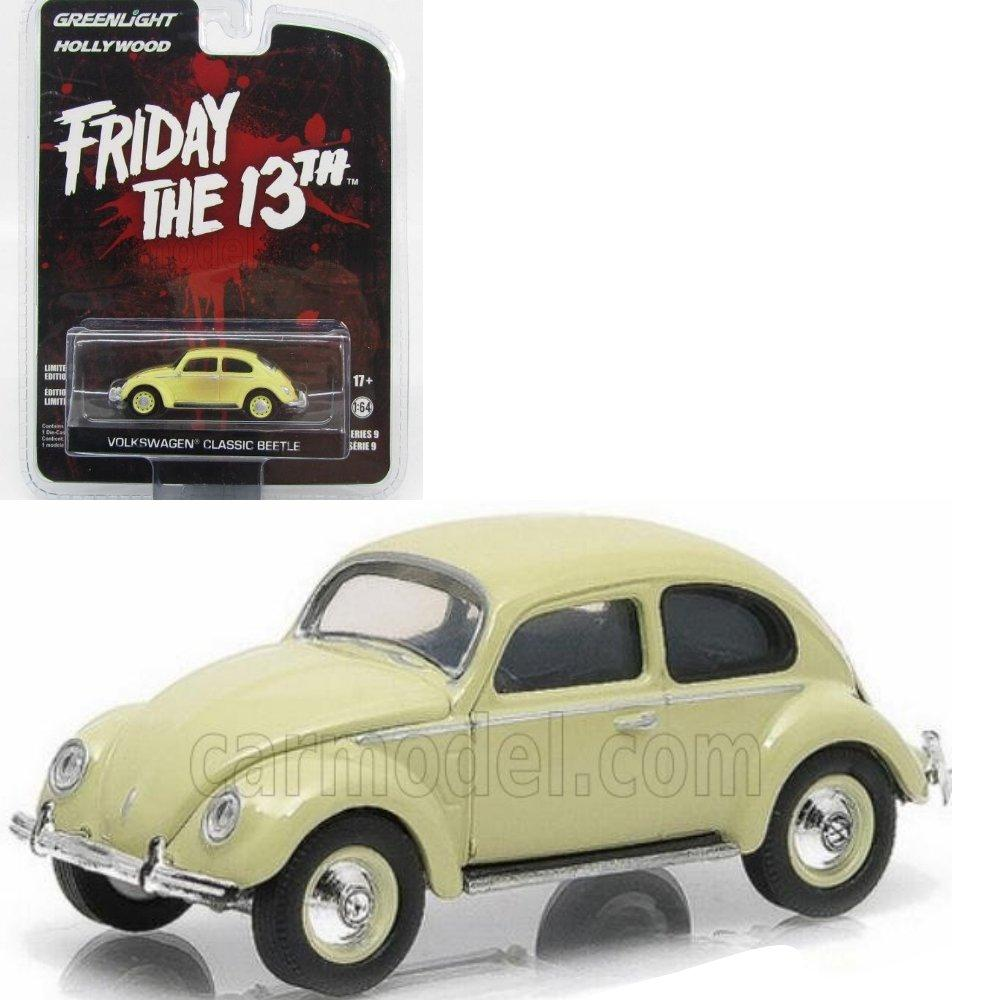 Diecast Greenlight 1/64 Volkswagen Classic Beetle Friday The 13Th
