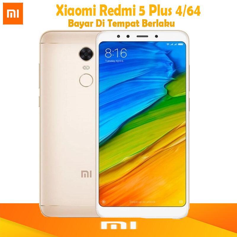 Xiaomi Redmi 5 Plus - Ram 4GB/64GB + Gratis Silicon Case