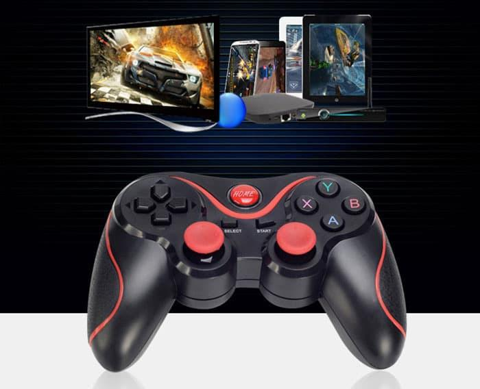 Terbaik Joystick Game T3 Bluetooth Wireless Gamepad Controller HP Android iOS