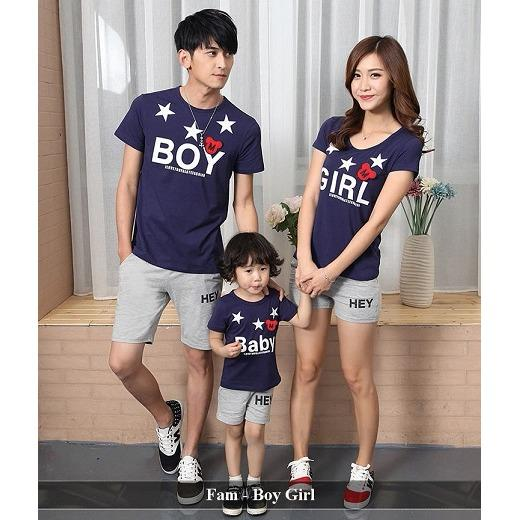 Distributor Family Online - Baju Keluarga Online - Fam Boy Girl