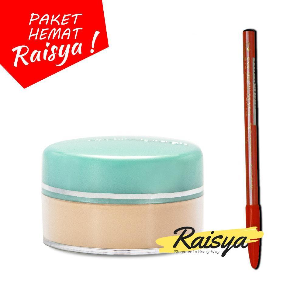 Wardah Everyday Luminous Face Powder - Bedak Tabur 01 Light Beige Free Viva Pensil Alis
