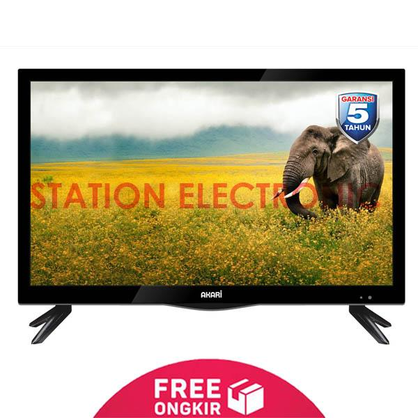 AKARI HD Ready USB Movie LED TV 28 - 29V89 - Khusus JABODETABEK