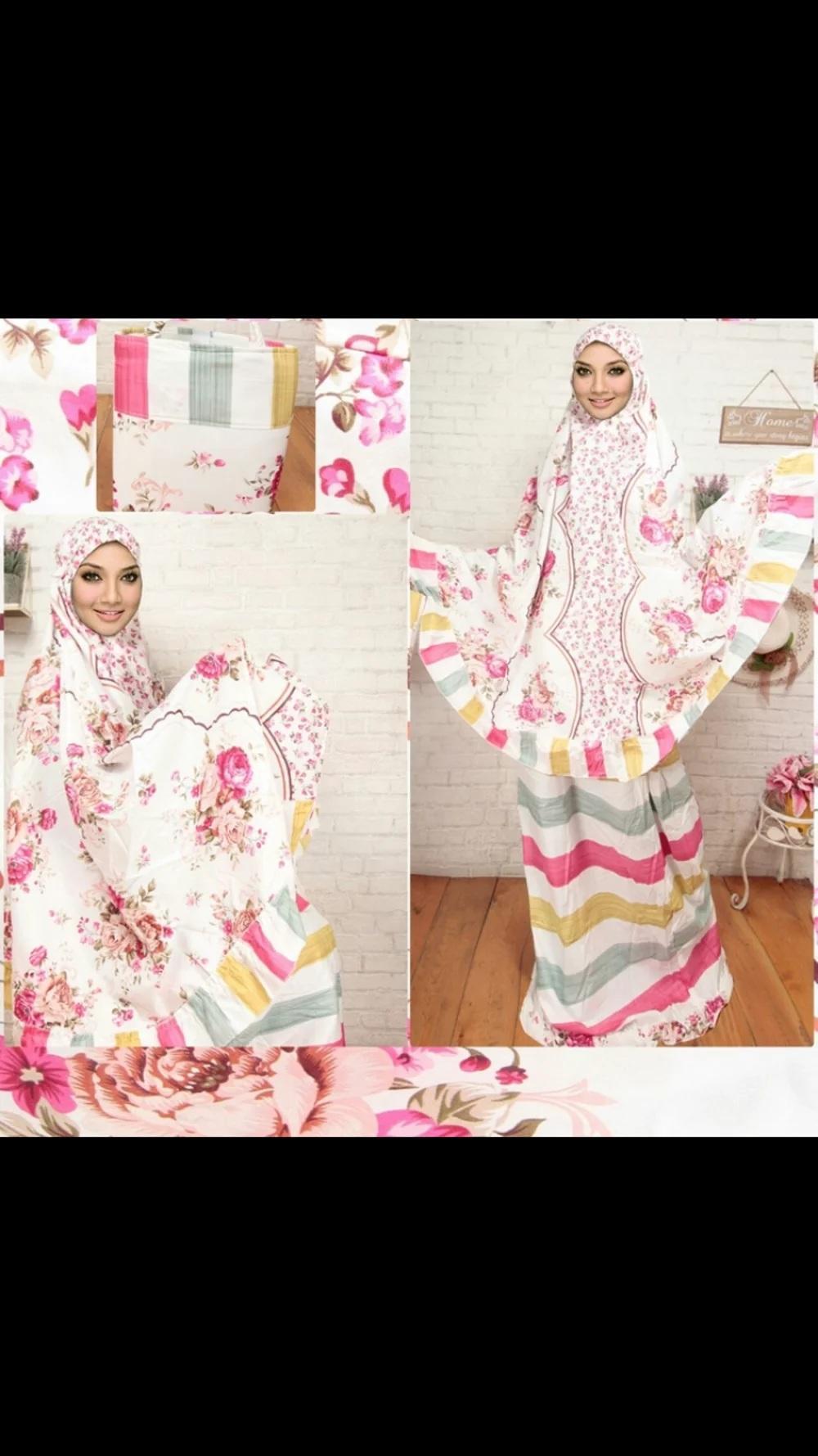 Promosi Mukena Katun Jepang Bella Rose Pink ShopputraIDR158000. Rp 159.000