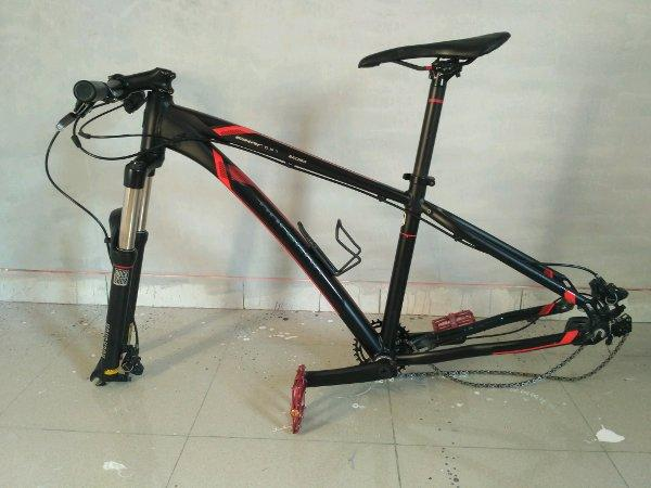 Frame Polygon Xtrada 6 New Black Red 27.5