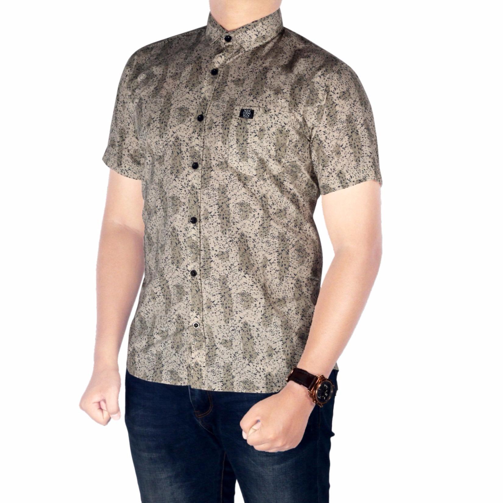 Gudang Fashion Kemeja Batik Pria Slim Biru Muda Daftar Harga Agrapana Nandana Cap Fit Lengan Panjang M Tua Source Baju Bsg Fashion1