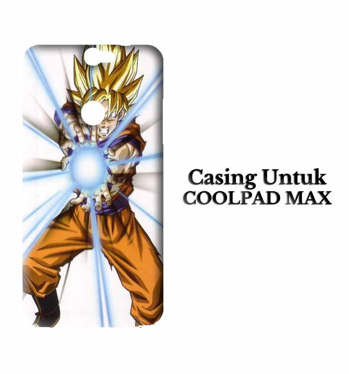 Casing Coolpad Max Dragon Ball Z GOKU Custom Hard Case Cover