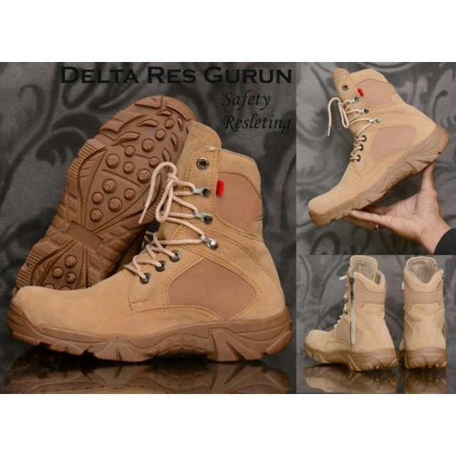 Sepatu Delta Safety Tracking Adventure Touring Hiking Gunung Murah Zimzam zeus original