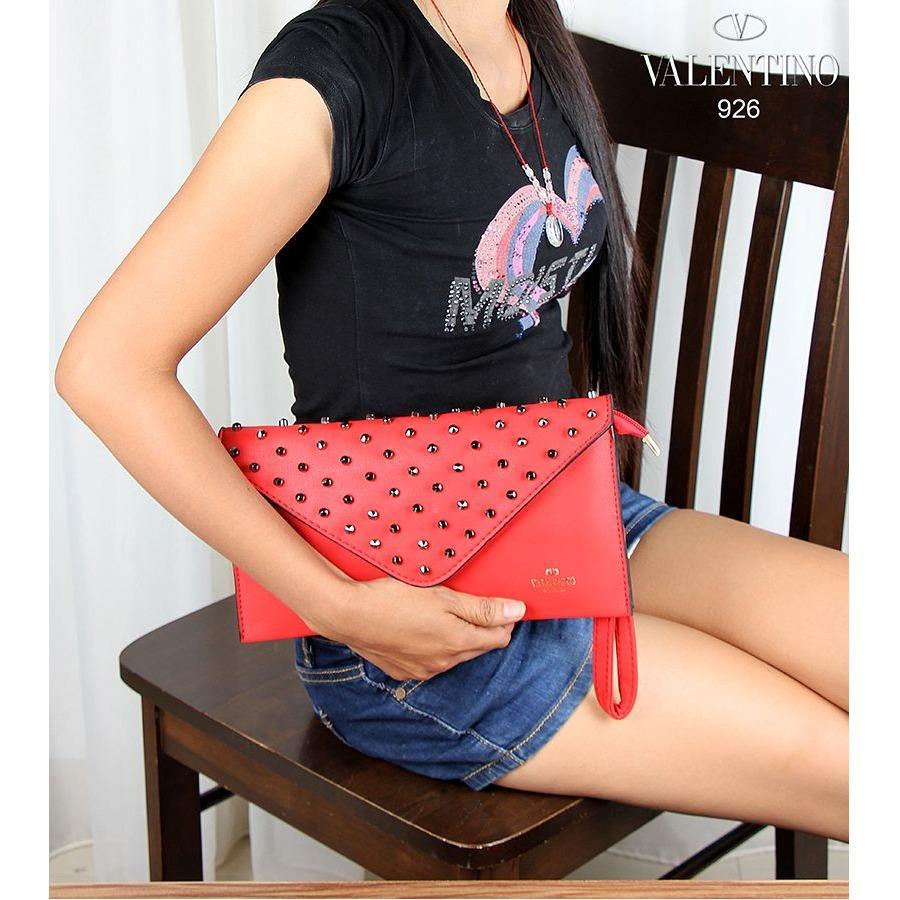 VALENTINOU 926 - Tas Fashion Wanita Bag Import Branded - Supplier Grosir Tas Bag Ransel Selempang Dompet Murah Terbaru Berkualitas
