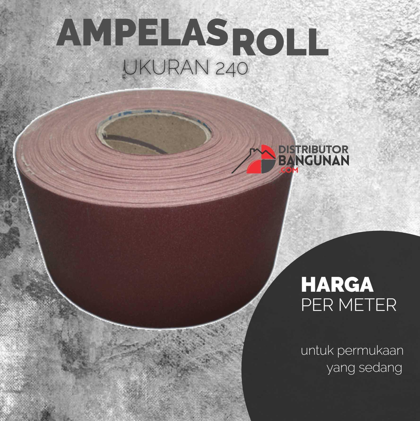 Buy Sell Cheapest Amplas Ampelas Duco Best Quality Product Deals Kertas Abrasive Paper Vpr Roll Gulung Gosok Grit 240 Per Meter