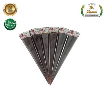 Harga Penawaran Henna Bibir - Henna Lips - Setangah Box isi 6 Cone discount - Hanya Rp34.600
