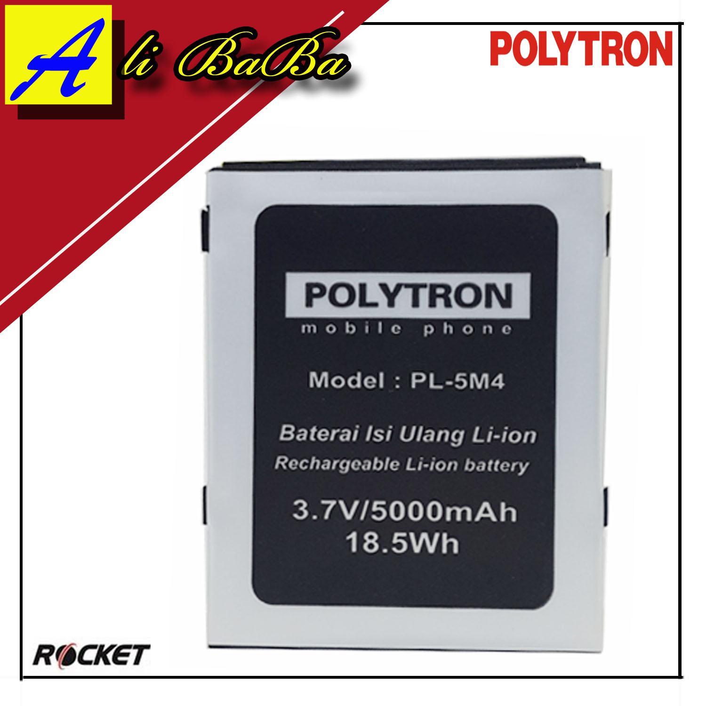 Baterai Handphone Polytron Rocket R1 R2403 PL-5M4 Double Power Polytron Original Batu Batre OEM
