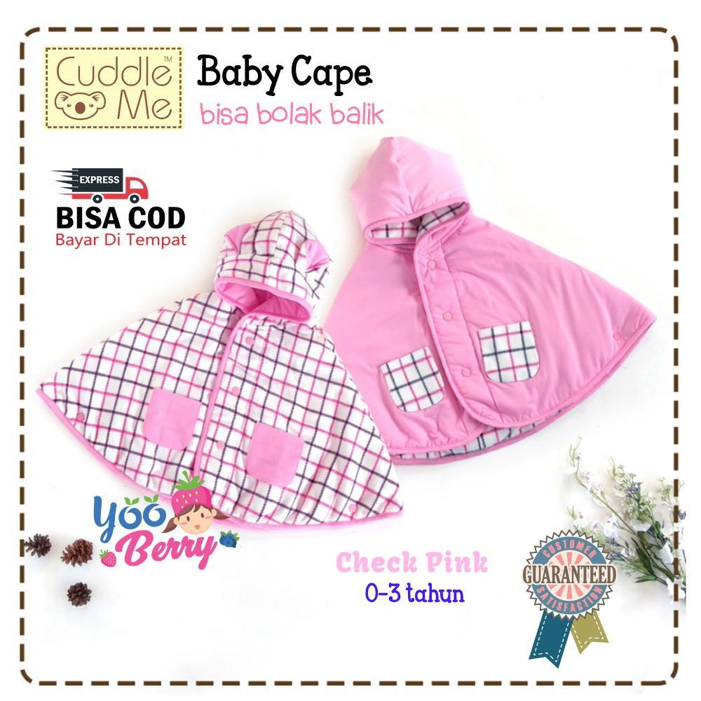 YooBerry Cuddle Me Baby Cape Jaket Bayi Anak 0-3 Tahun