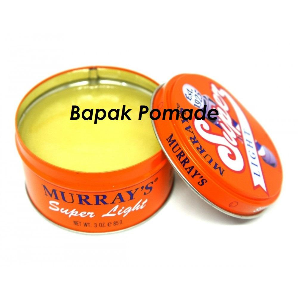 Pomade Murray Murrays Superlight Super Light Oilbased 3 oz FREE SISIR SAKU