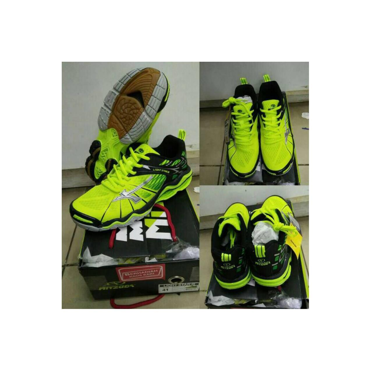 Sepatu Volly / Volley / Voli Mitzuda Light Star III lemon - Original