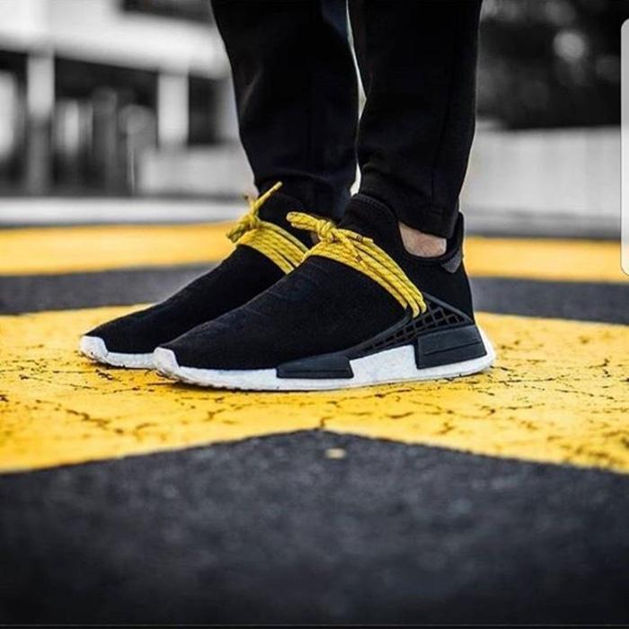 c24558ced4e01 Adidas Nmd Human Race Black Yellow Premium Original U002F Sepatu Adidas –  ready stock. Barang ini di jual ...