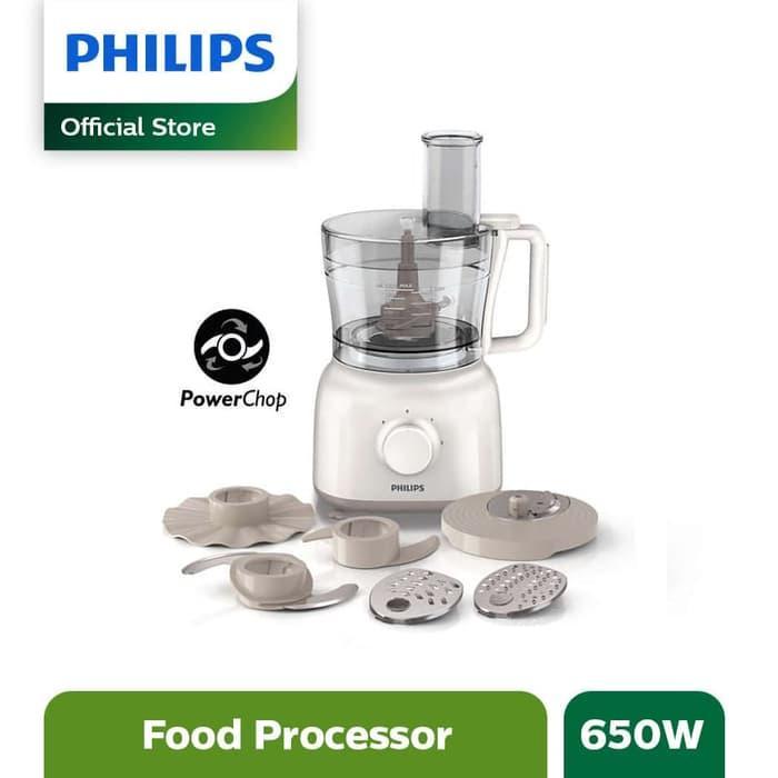 PROMO!!! Philips Food processor HR7627/00 650W Putih - kR9s3O
