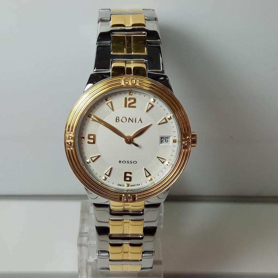 Buy Sell Cheapest Bonia Rosso Bnr137 Best Quality Product Deals Jam Tangan Pria B10098 1352 Silver Wanita Bnr144 2115 Gold Stainless Steel