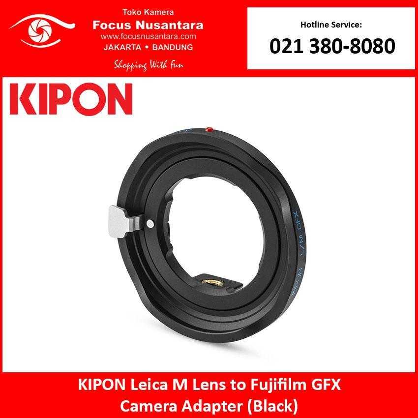 KIPON Leica M Lens to Fujifilm GFX Camera Adapter (Black)