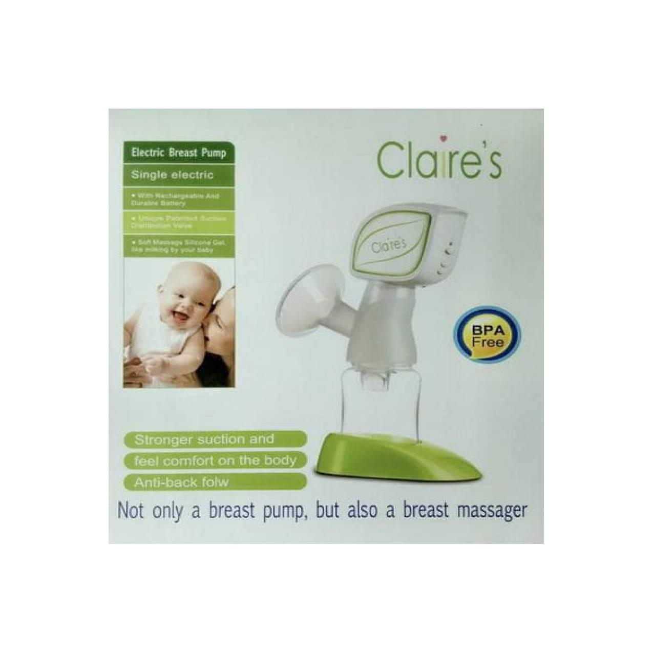 Claires Single Electric Breastpump Pompa ASI Elektrik Limited