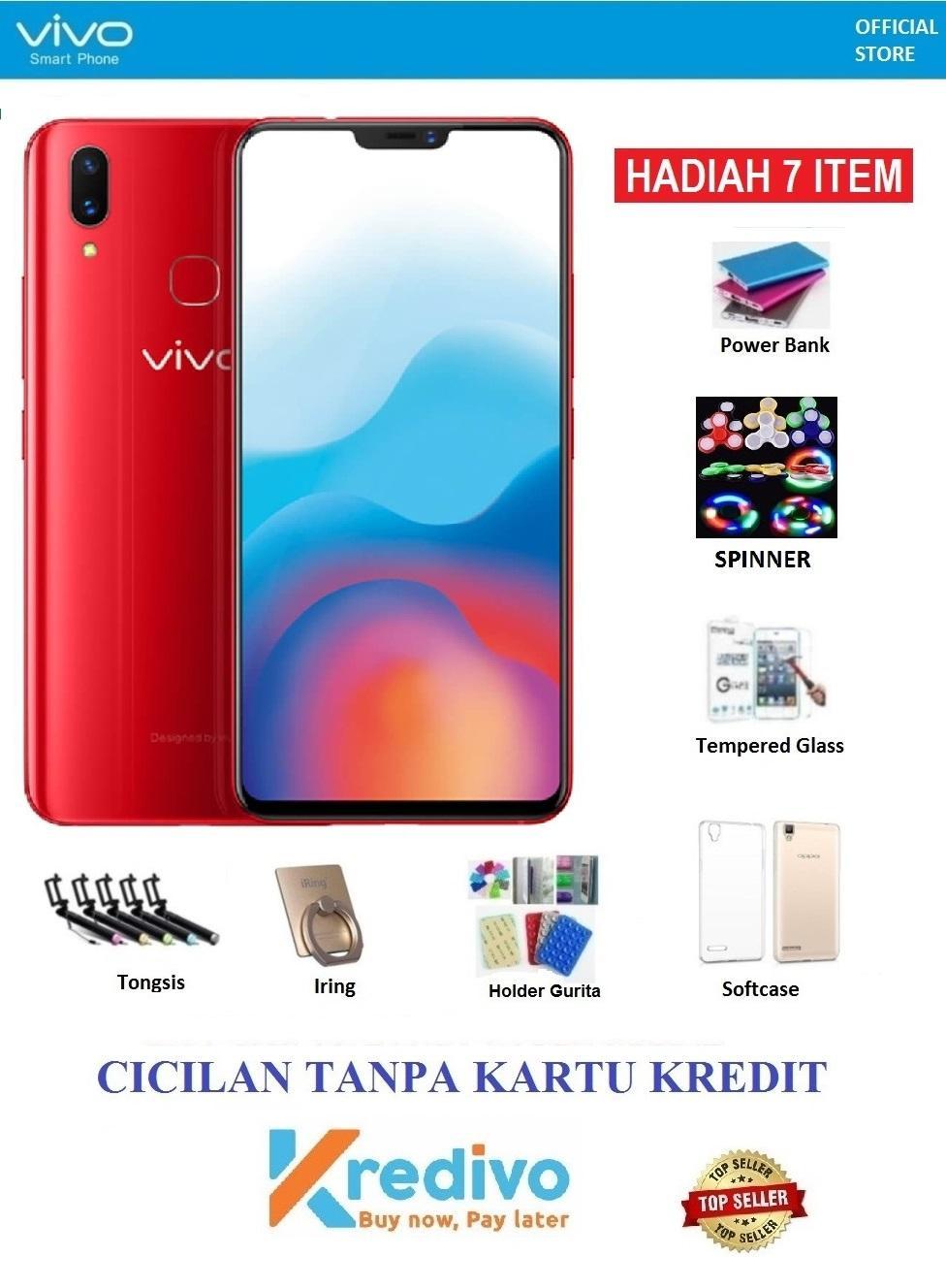 Vivo V9 Ram 6GB/64GB - Bisa Cicilan Tanpa Kartu Kredit + Hadiah 7 Acc